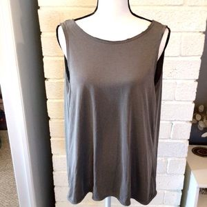 Tresics Luxe Backless Tank Top